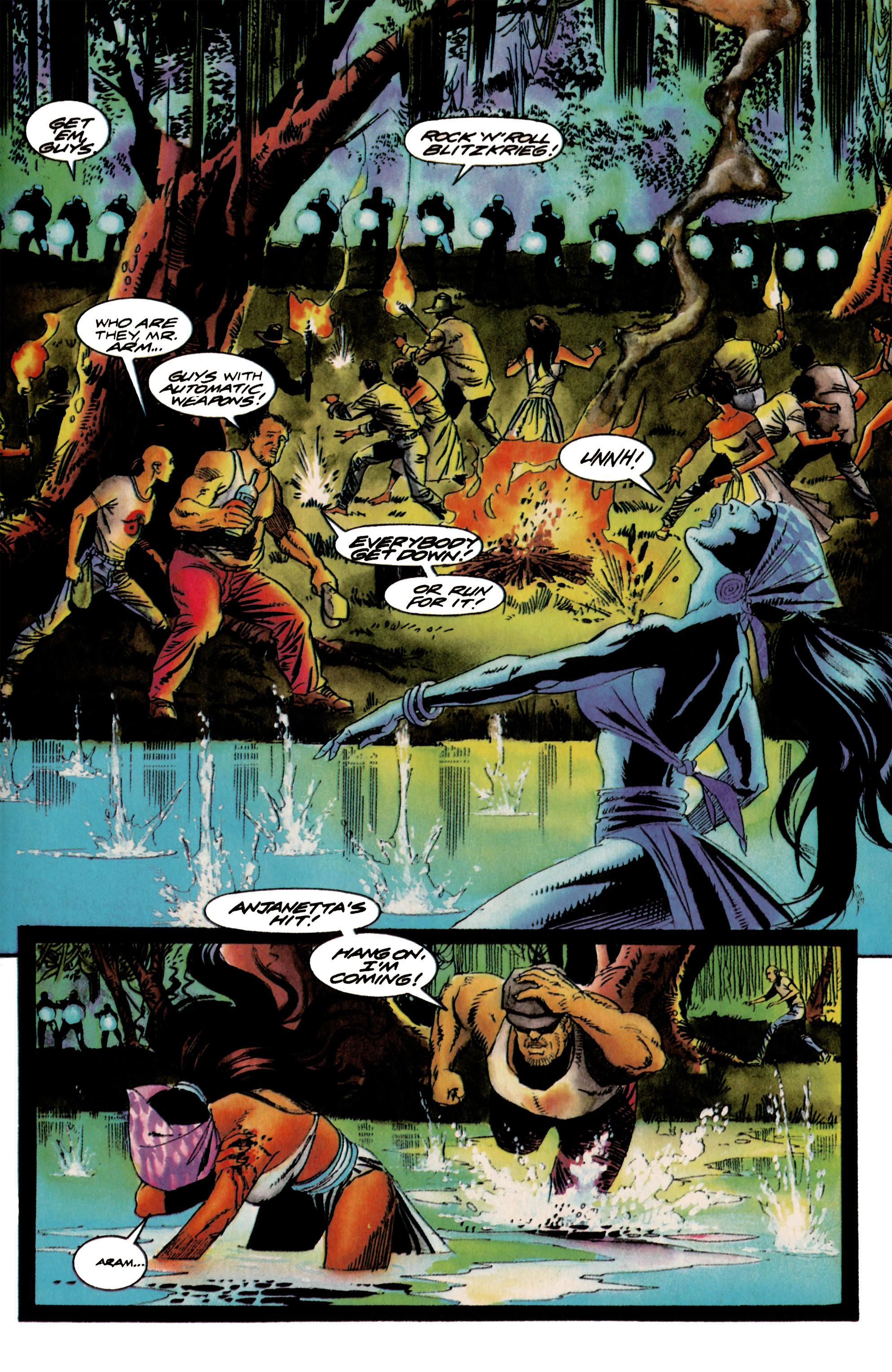 Read online Shadowman (1992) comic -  Issue #18 - 7
