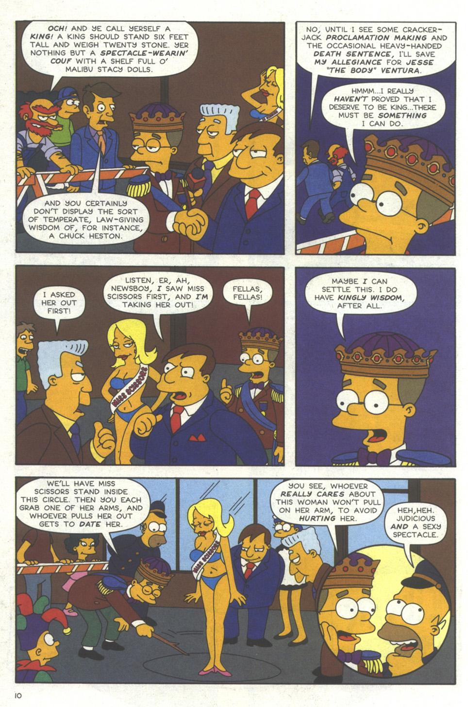 Read online Simpsons Comics comic -  Issue #56 - 11