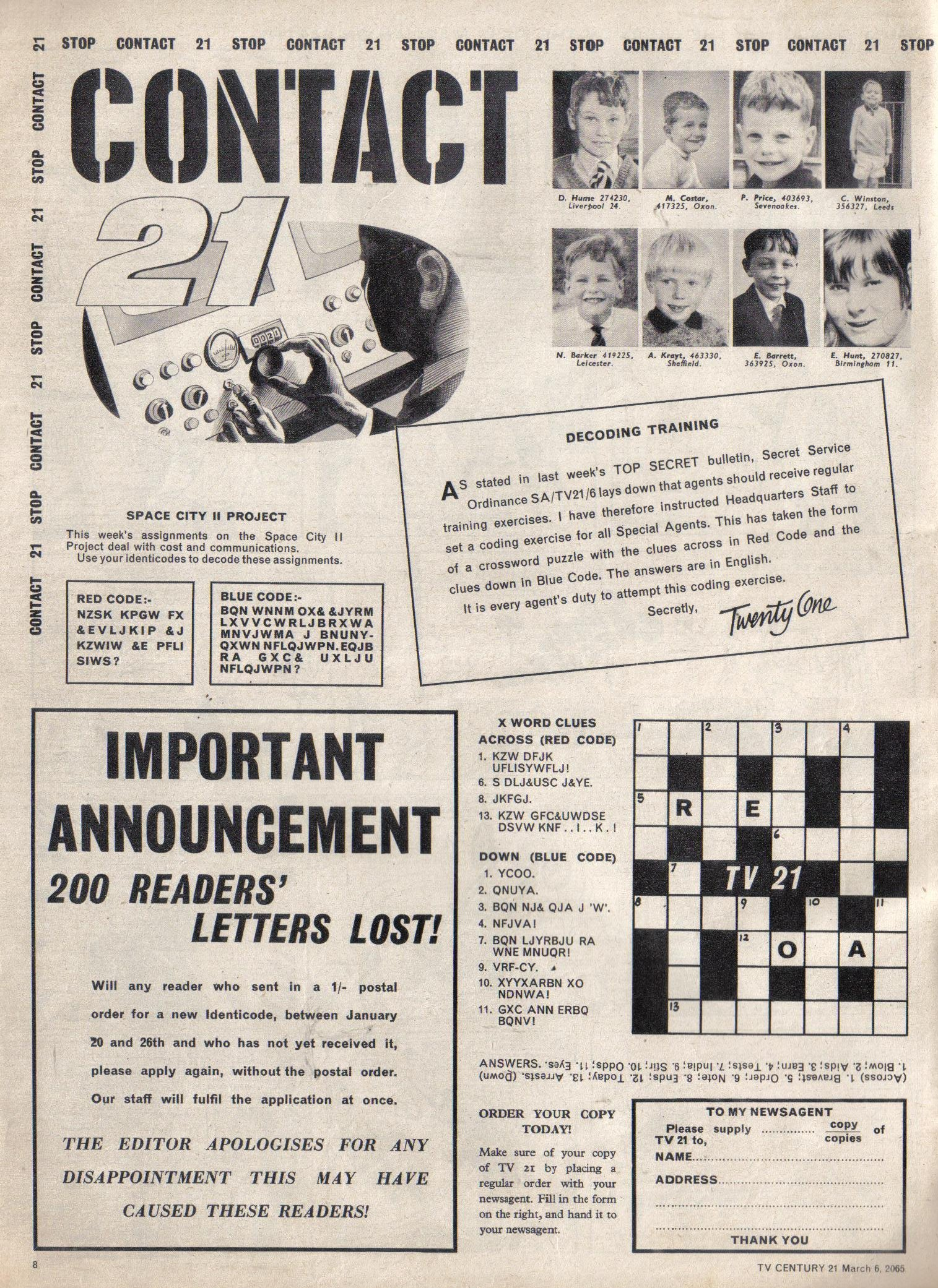 Read online TV Century 21 (TV 21) comic -  Issue #7 - 8