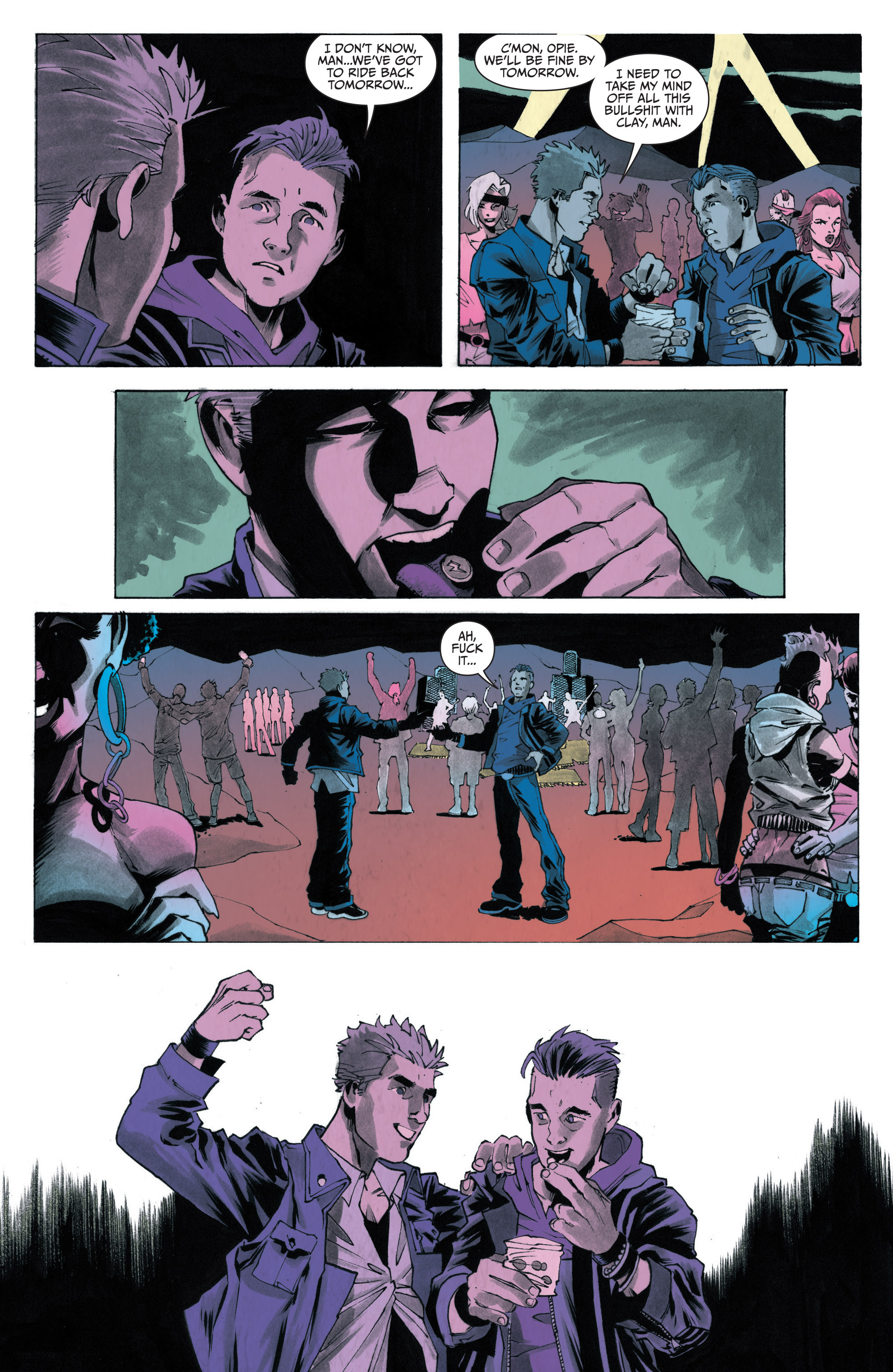 Read online Sons of Anarchy: Redwood Original comic -  Issue #4 - 6