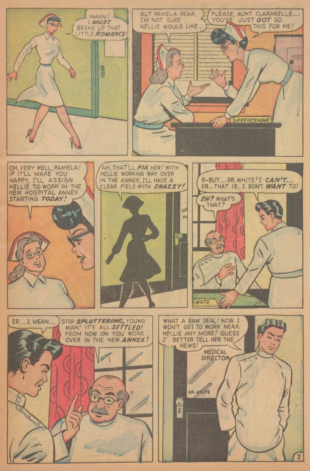 Read online Nellie The Nurse (1945) comic -  Issue #18 - 11