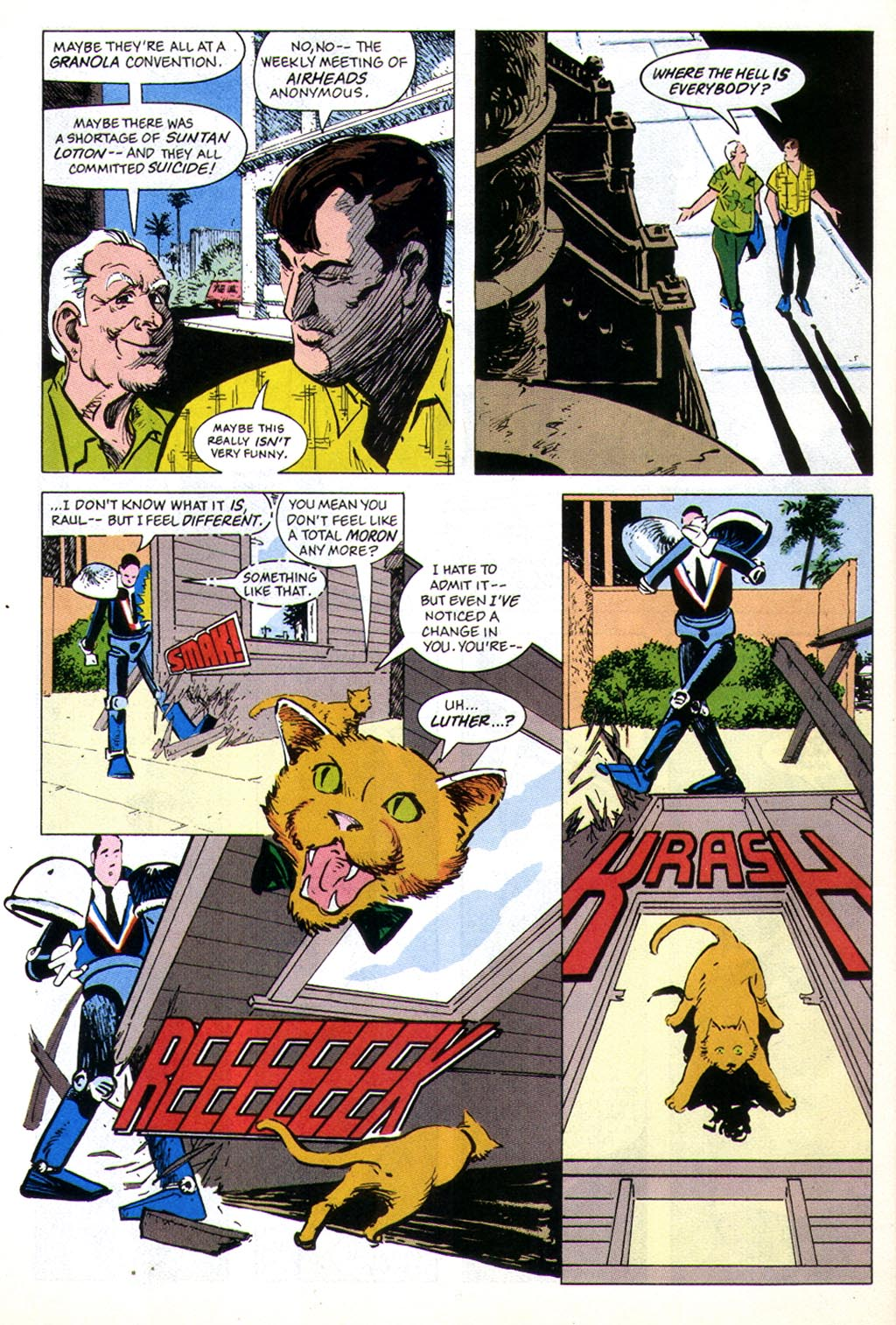 Read online American Flagg! comic -  Issue #43 - 8