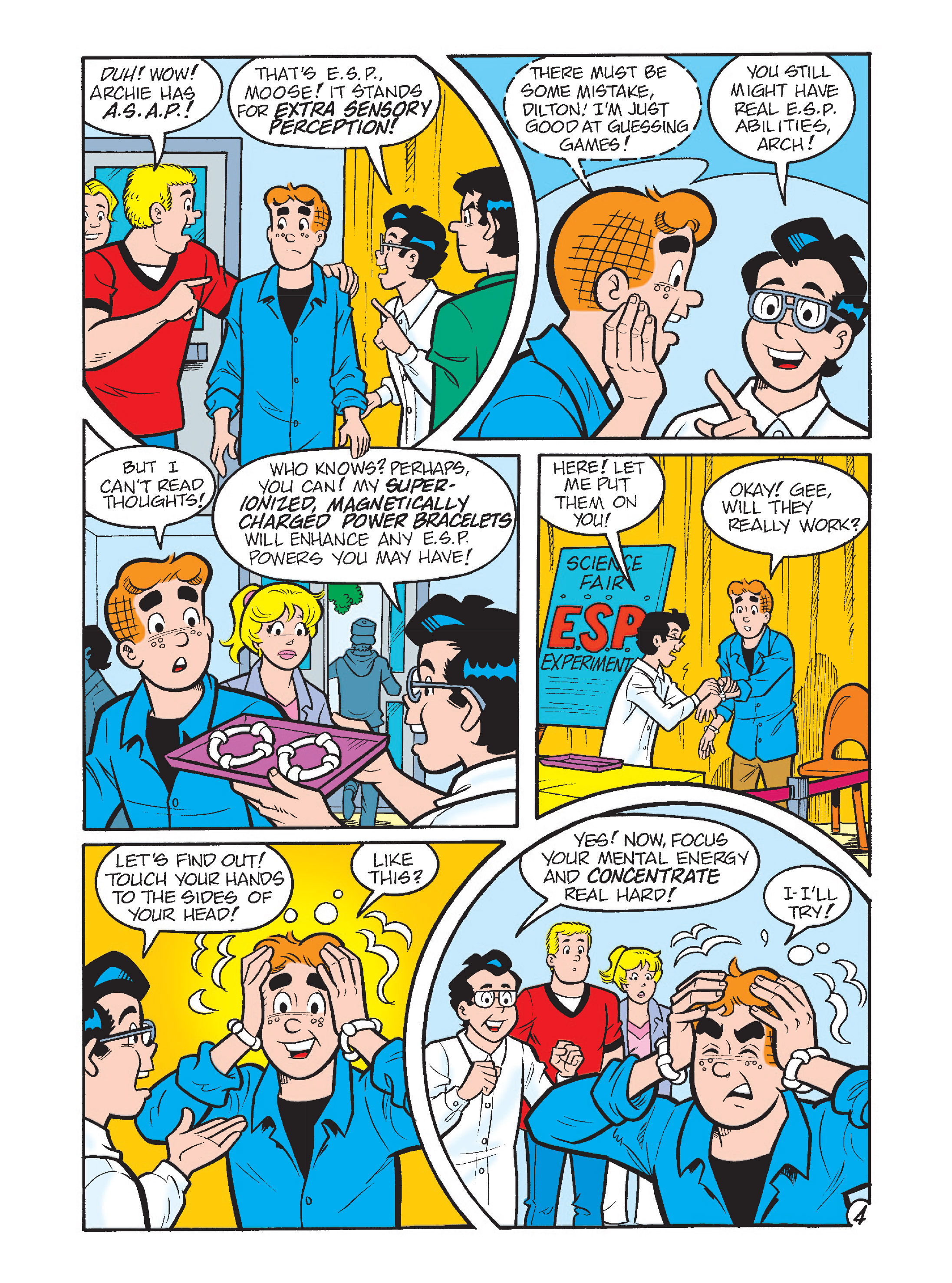 Read online Archie's Funhouse Double Digest comic -  Issue #2 - 5