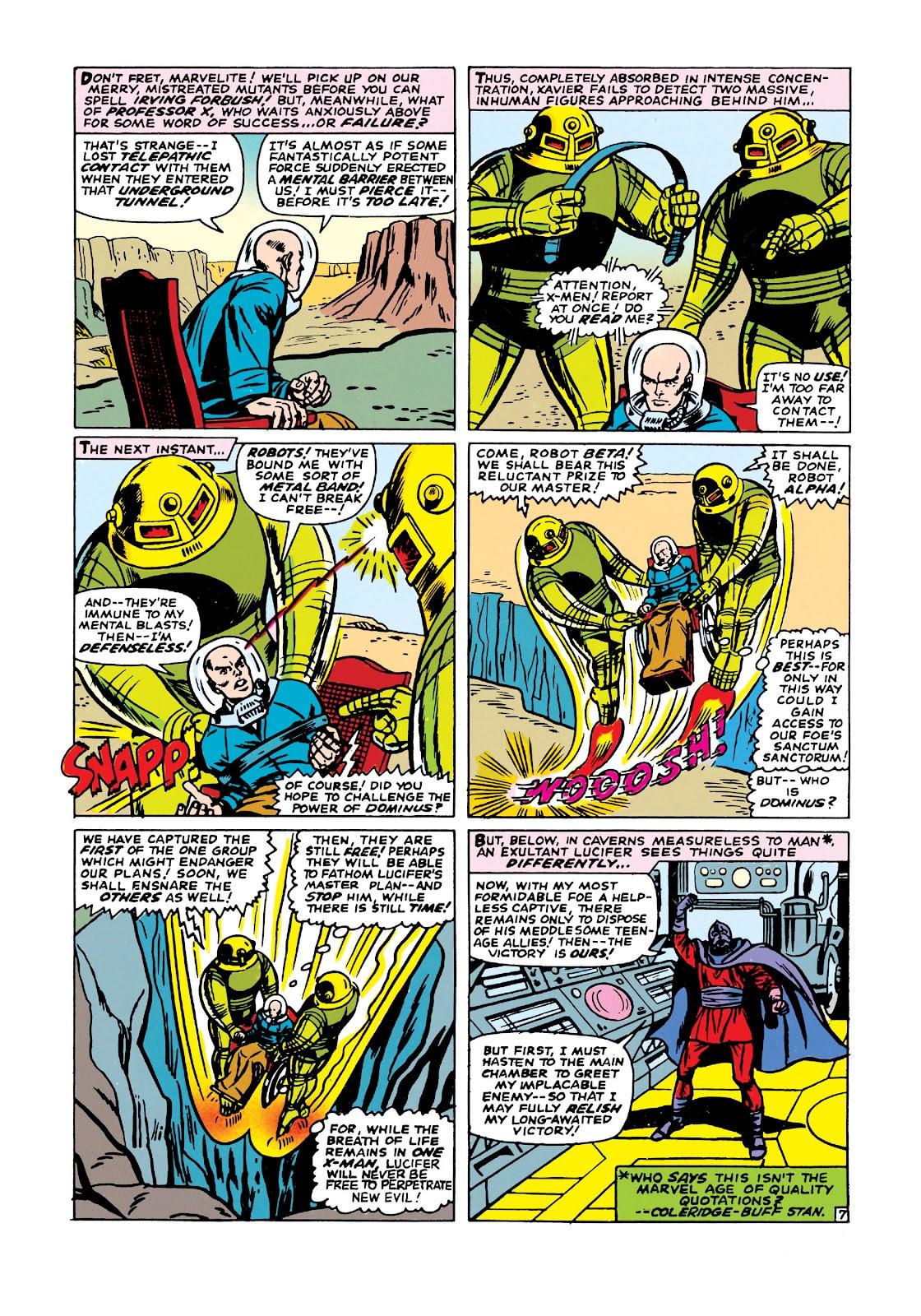 Uncanny X-Men (1963) issue 21 - Page 8