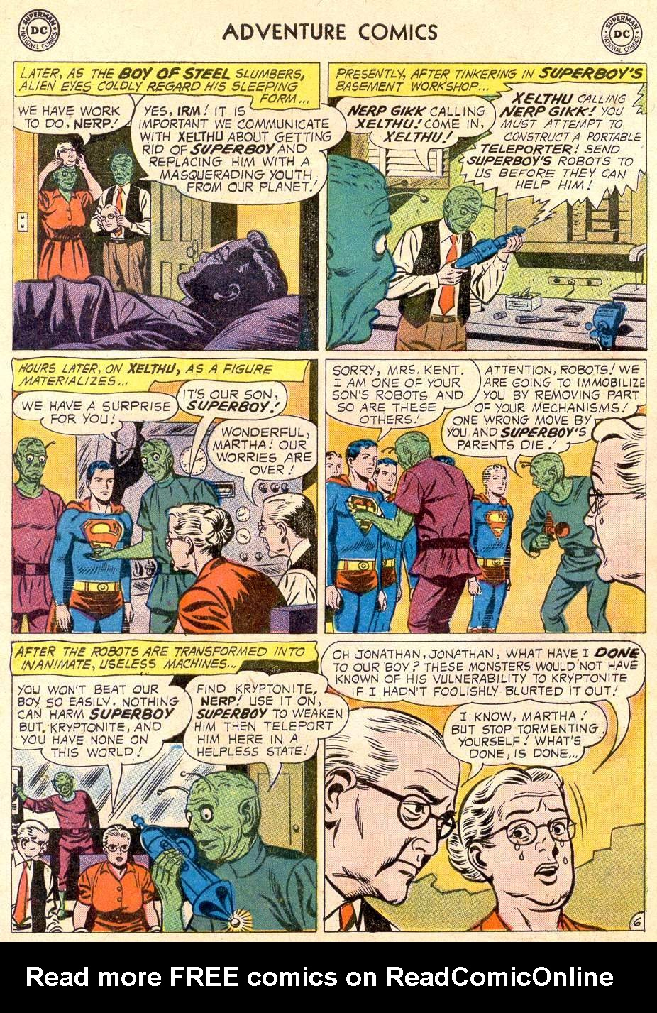 Read online Adventure Comics (1938) comic -  Issue #270 - 8