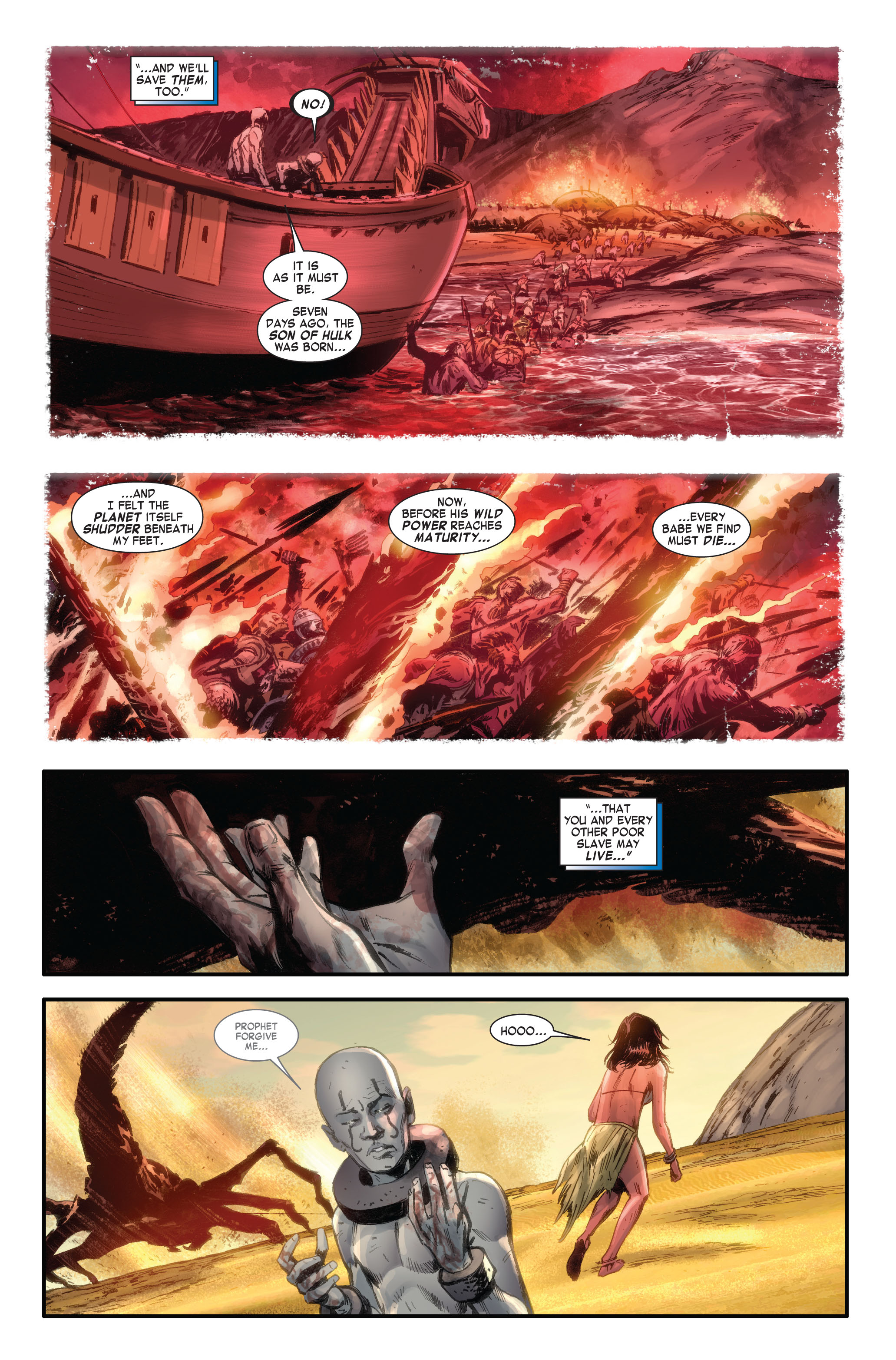 Read online Skaar: Son of Hulk comic -  Issue #4 - 22