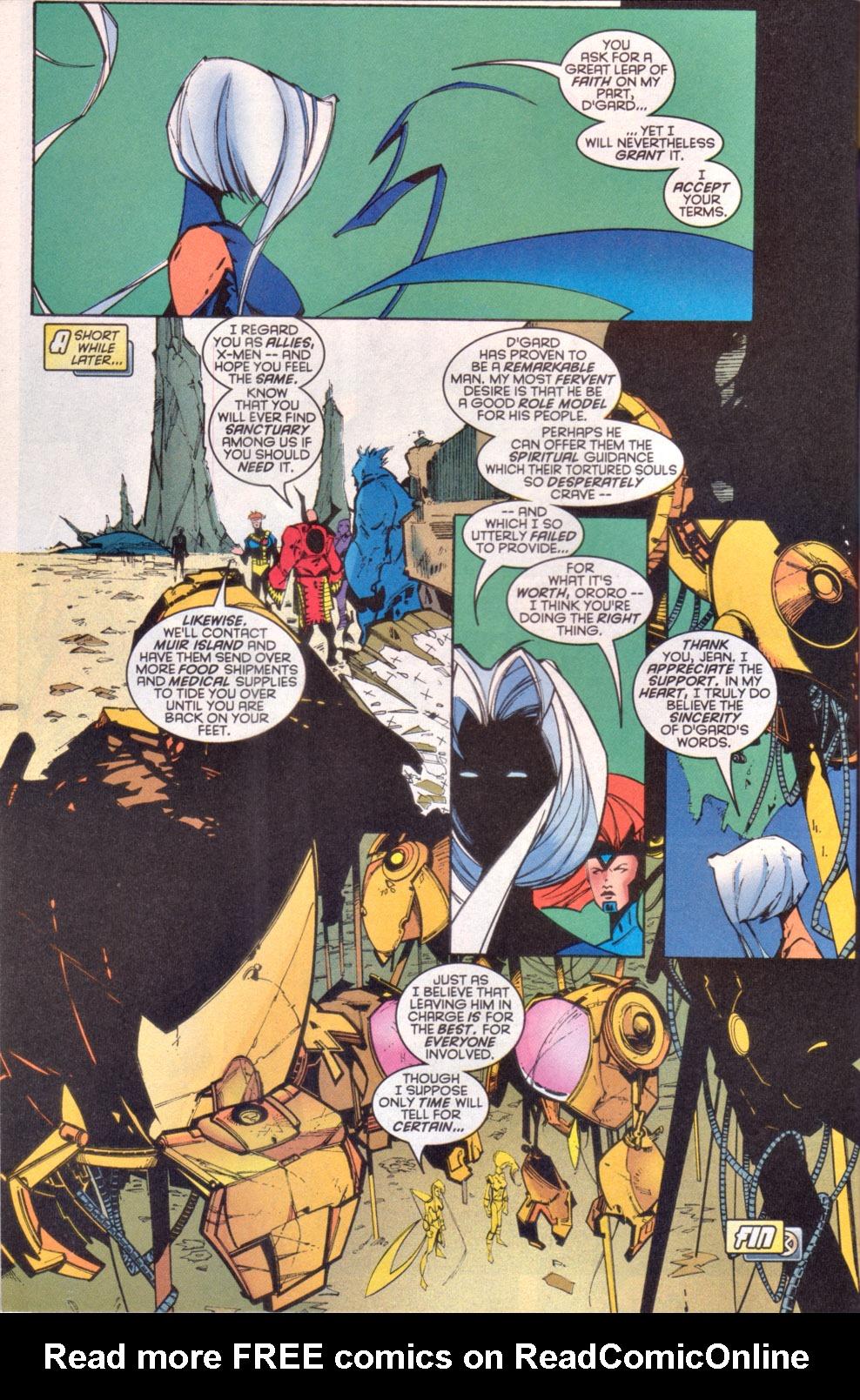 Read online Uncanny X-Men (1963) comic -  Issue # _Annual 1997 - 39