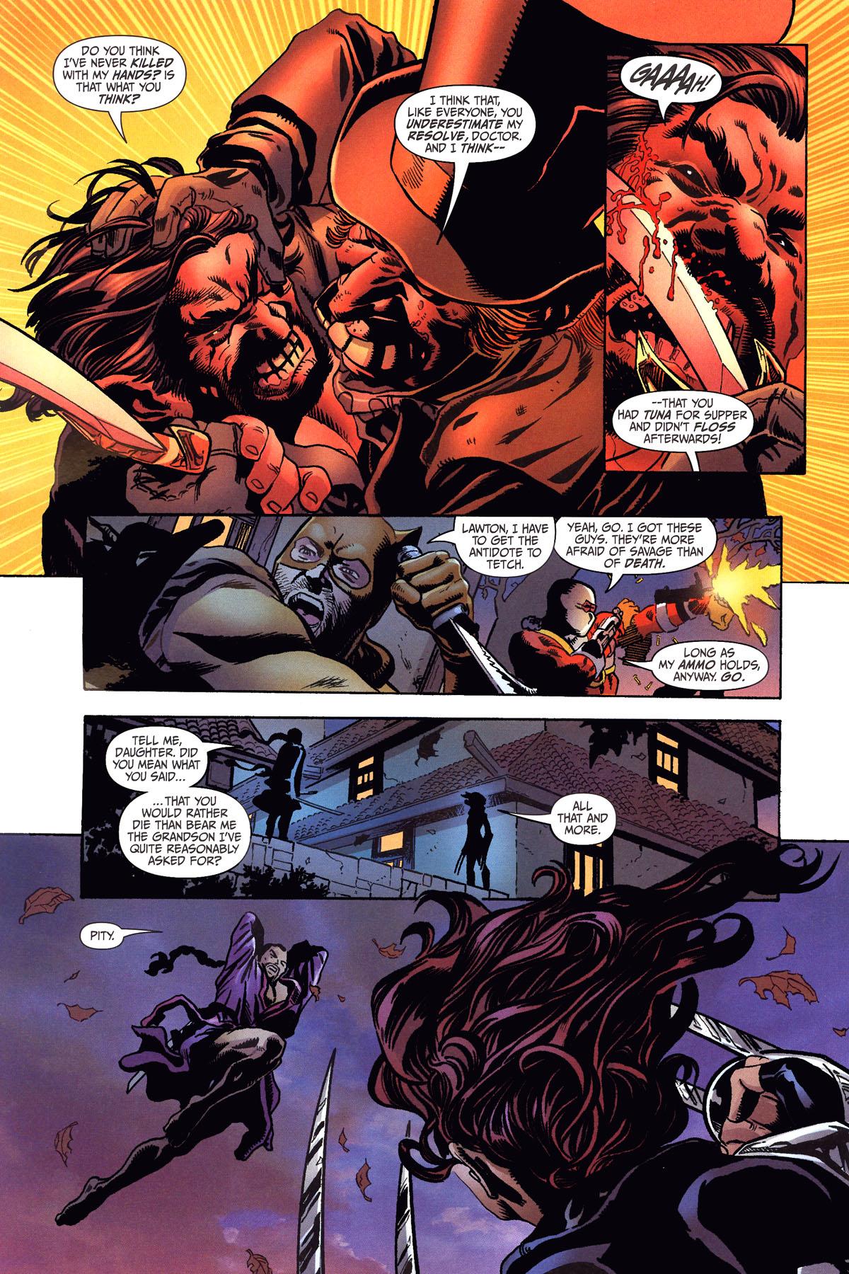 Read online Secret Six (2006) comic -  Issue #6 - 13