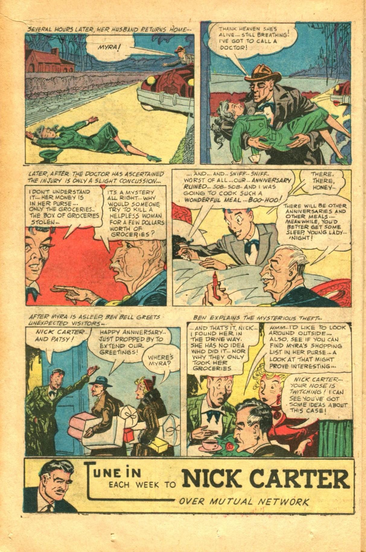 Read online Shadow Comics comic -  Issue #91 - 18