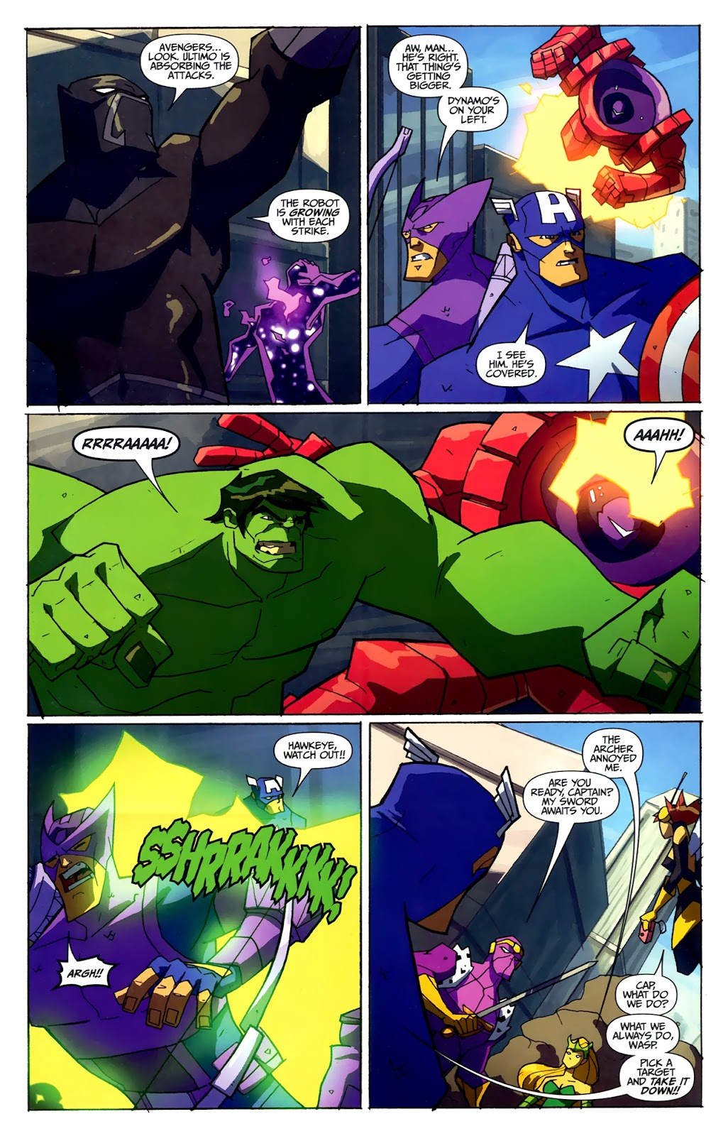Avengers: Earth's Mightiest Heroes (2011) Issue #4 #4 - English 11