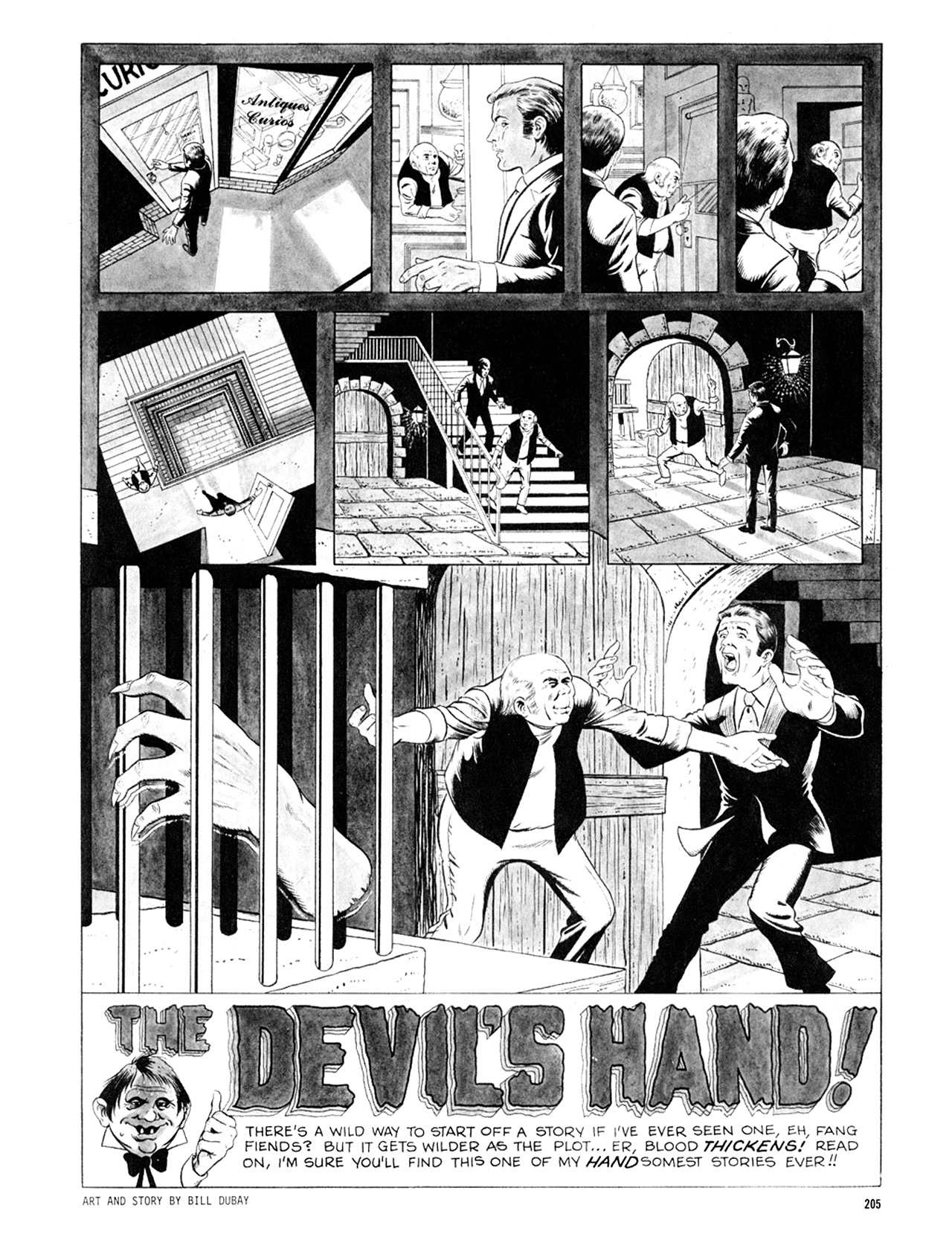 Read online Eerie Archives comic -  Issue # TPB 6 - 205