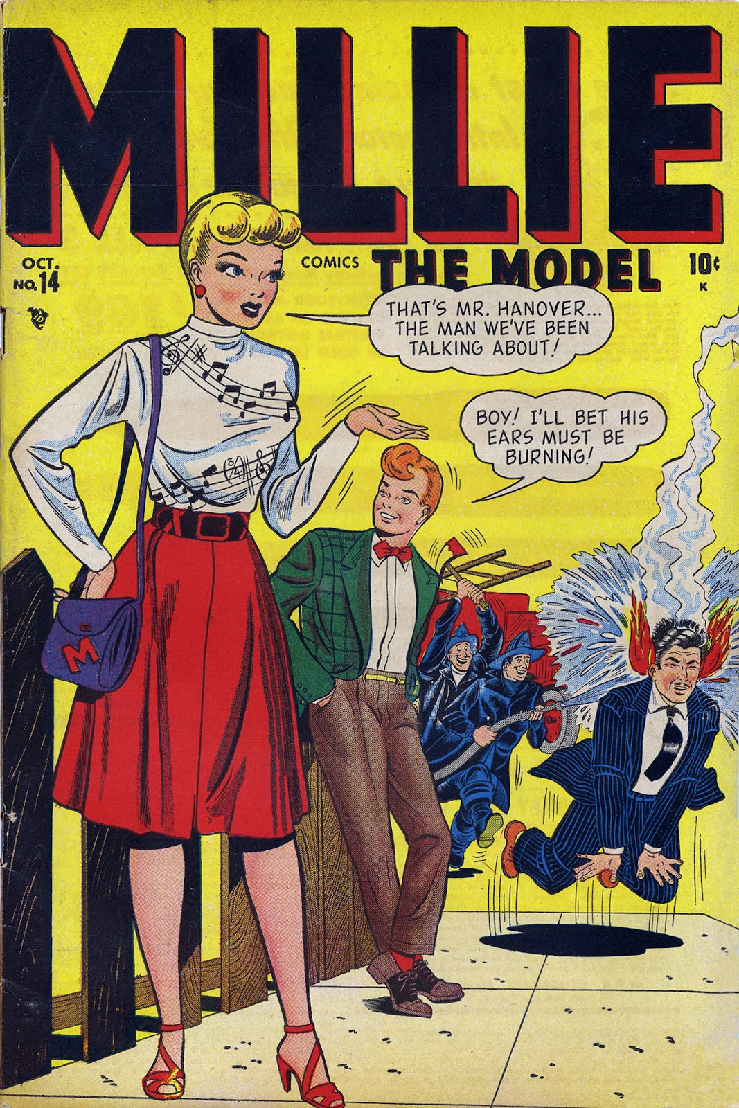 Read online Millie the Model comic -  Issue #14 - 1