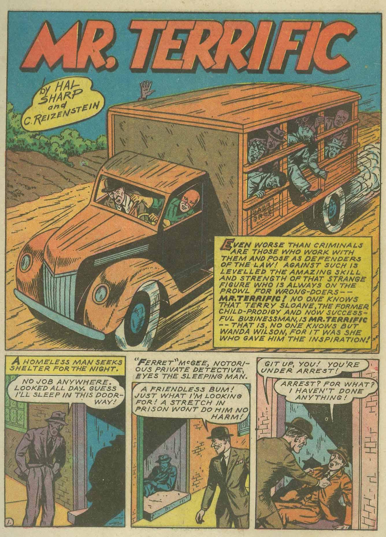 Read online Sensation (Mystery) Comics comic -  Issue #9 - 25