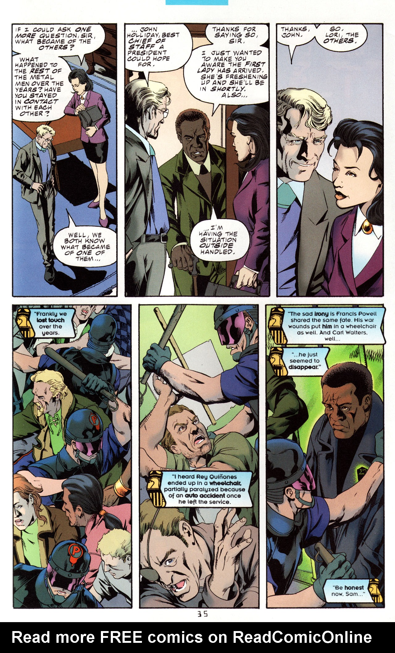 Read online Tangent Comics/ Metal Men comic -  Issue # Full - 34