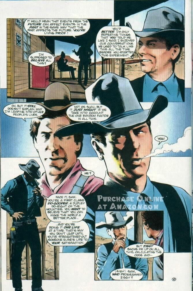 Read online Quantum Leap comic -  Issue #12 - 11