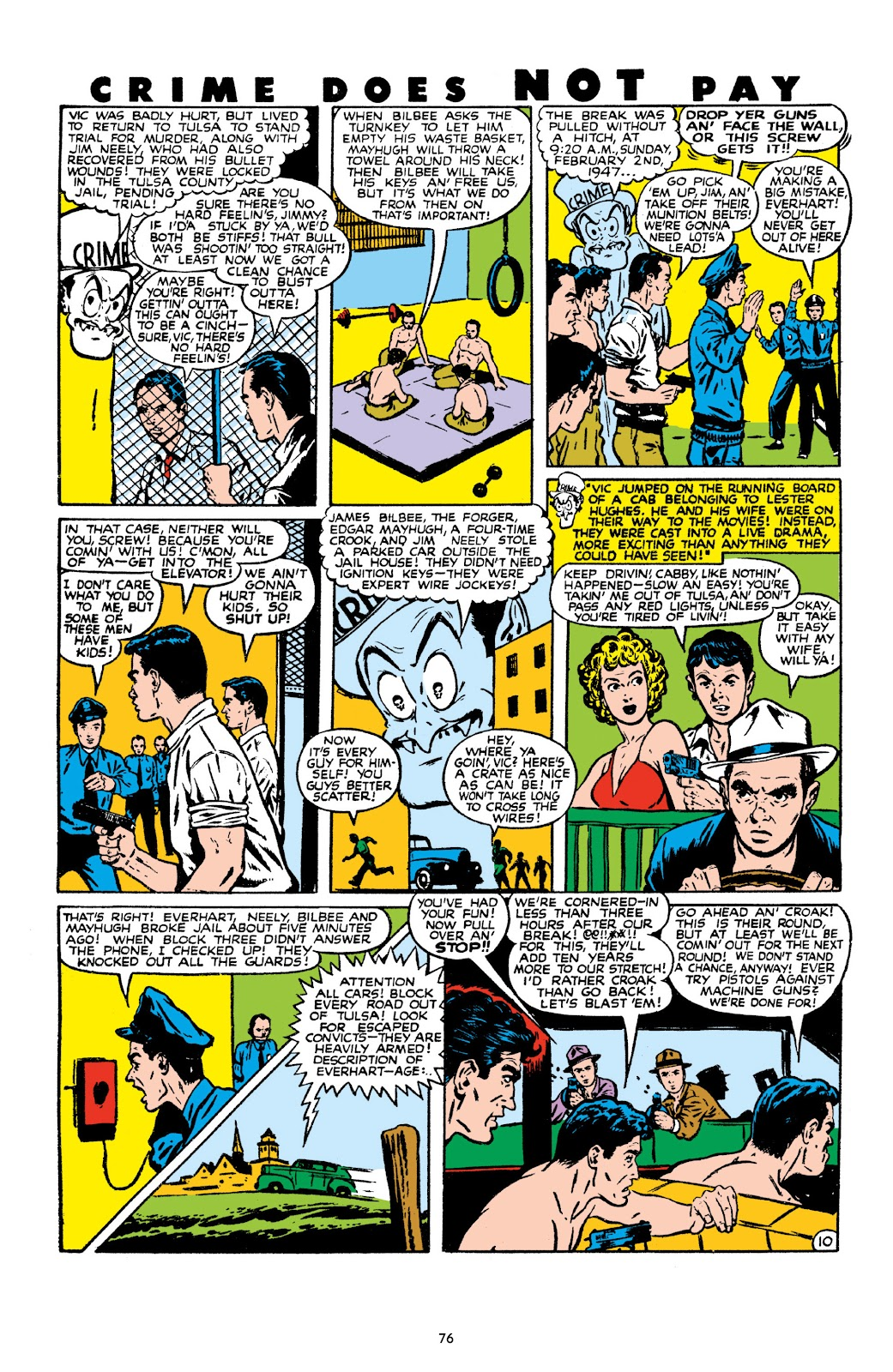 Read online Crime Does Not Pay Archives comic -  Issue # TPB 10 (Part 1) - 78