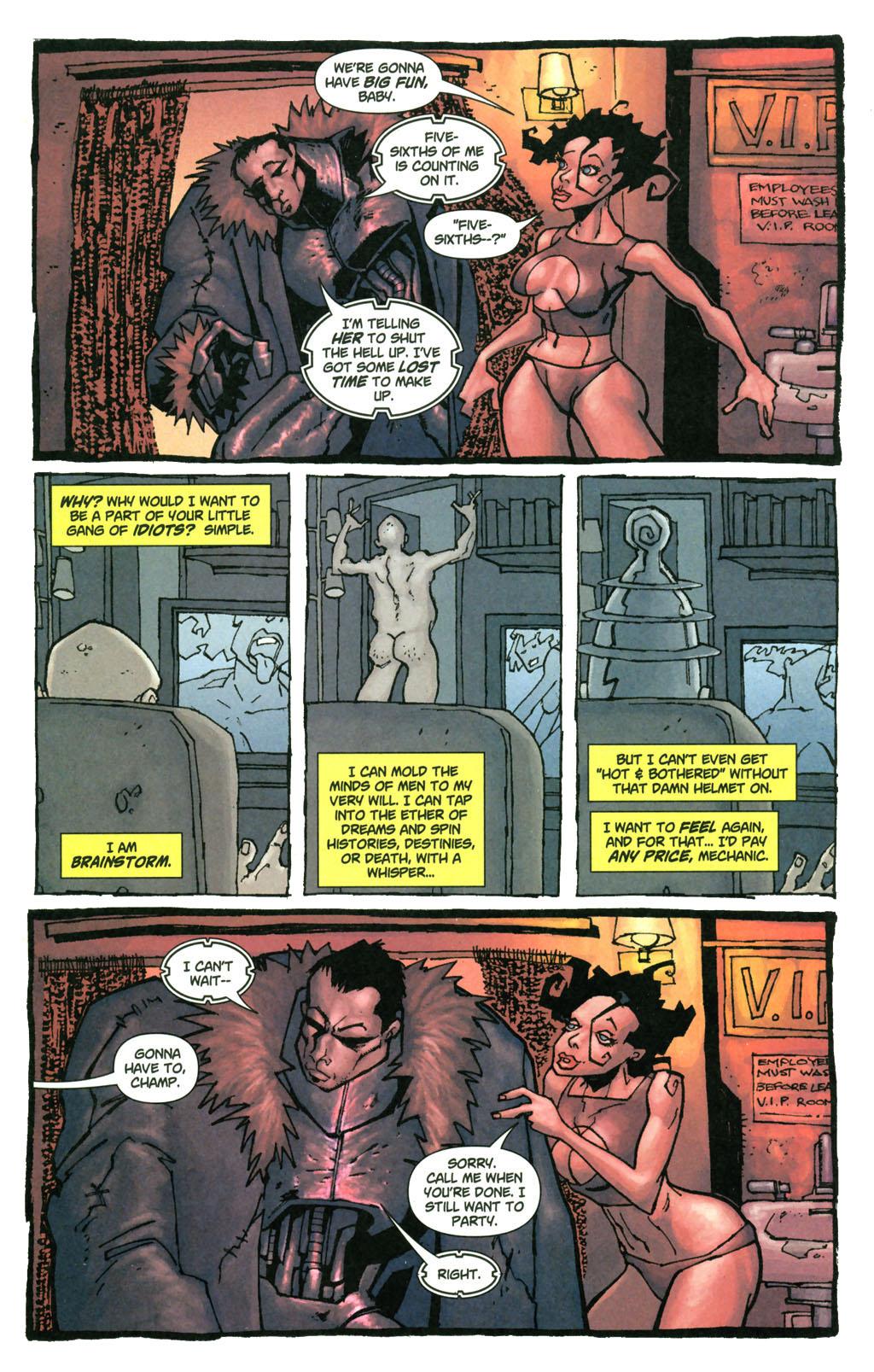 Read online Enginehead comic -  Issue #4 - 9