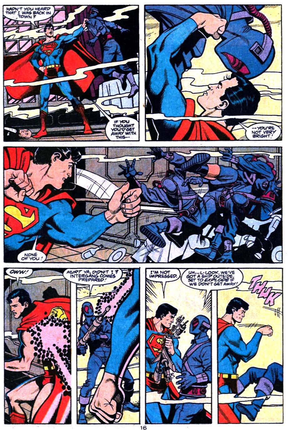 Read online Adventures of Superman (1987) comic -  Issue #457 - 17