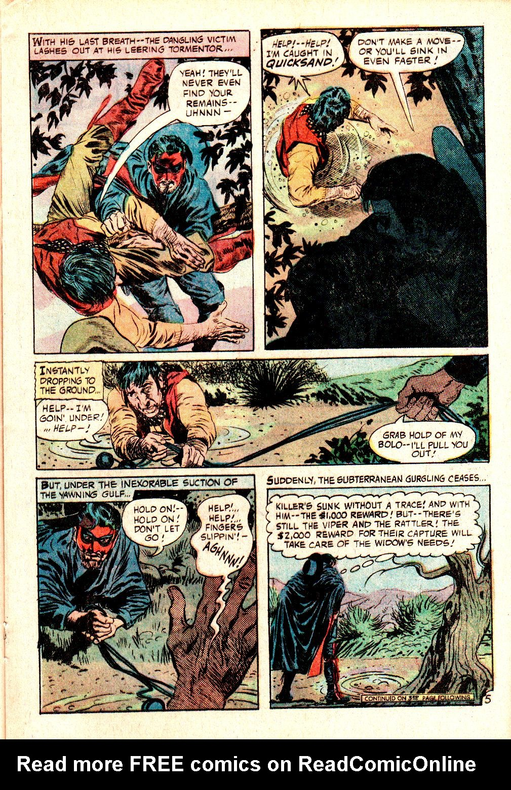 Read online All-Star Western (1970) comic -  Issue #10 - 25