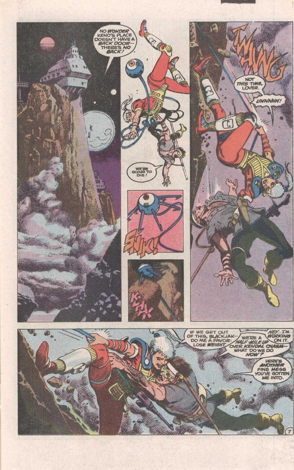 Read online Atari Force (1984) comic -  Issue #1 - 8