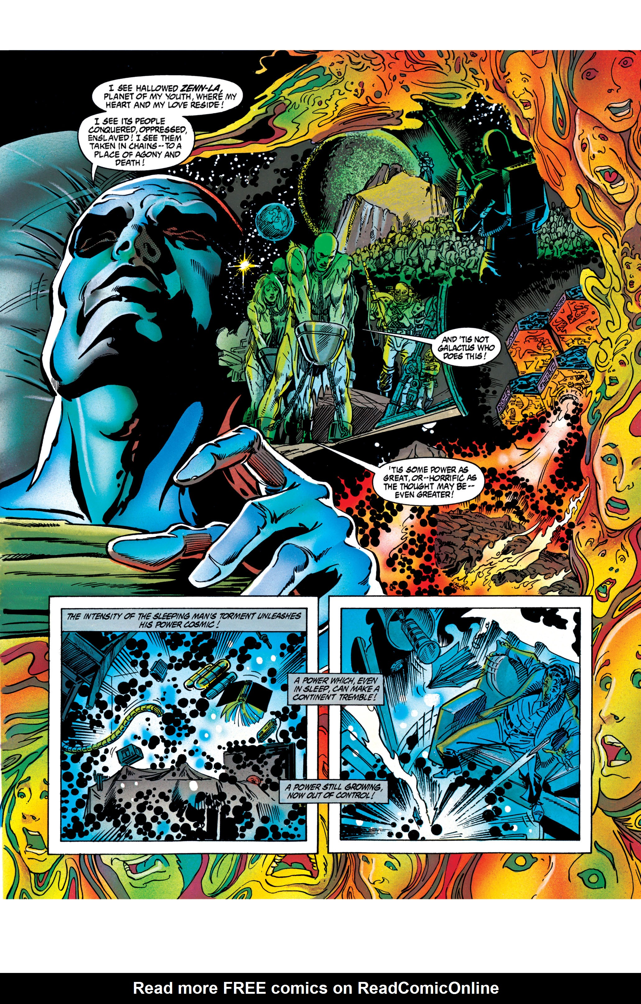 Read online Silver Surfer: Parable comic -  Issue # TPB - 68