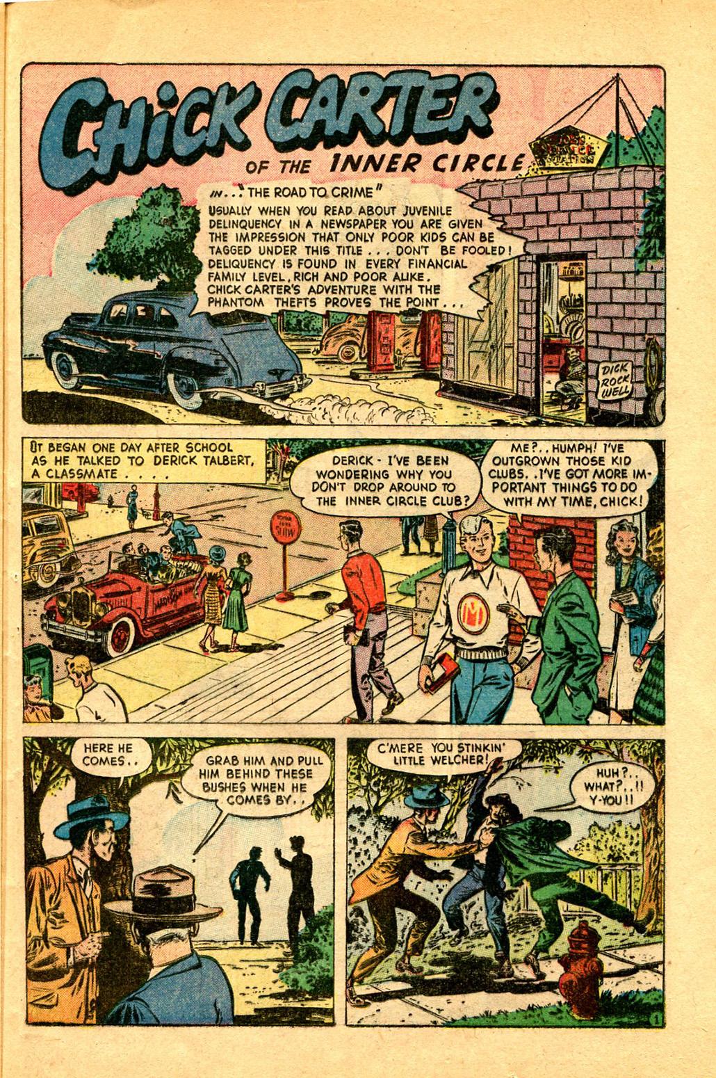 Read online Shadow Comics comic -  Issue #97 - 37