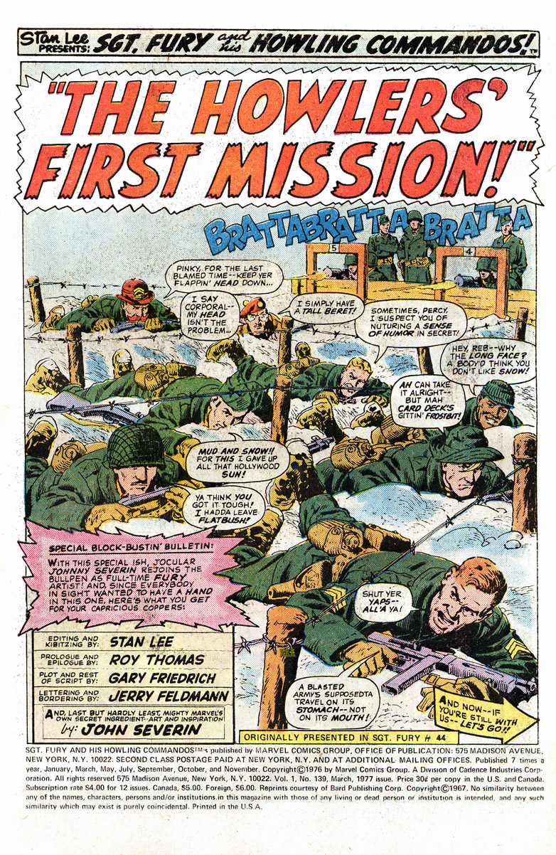 Read online Sgt. Fury comic -  Issue #139 - 3