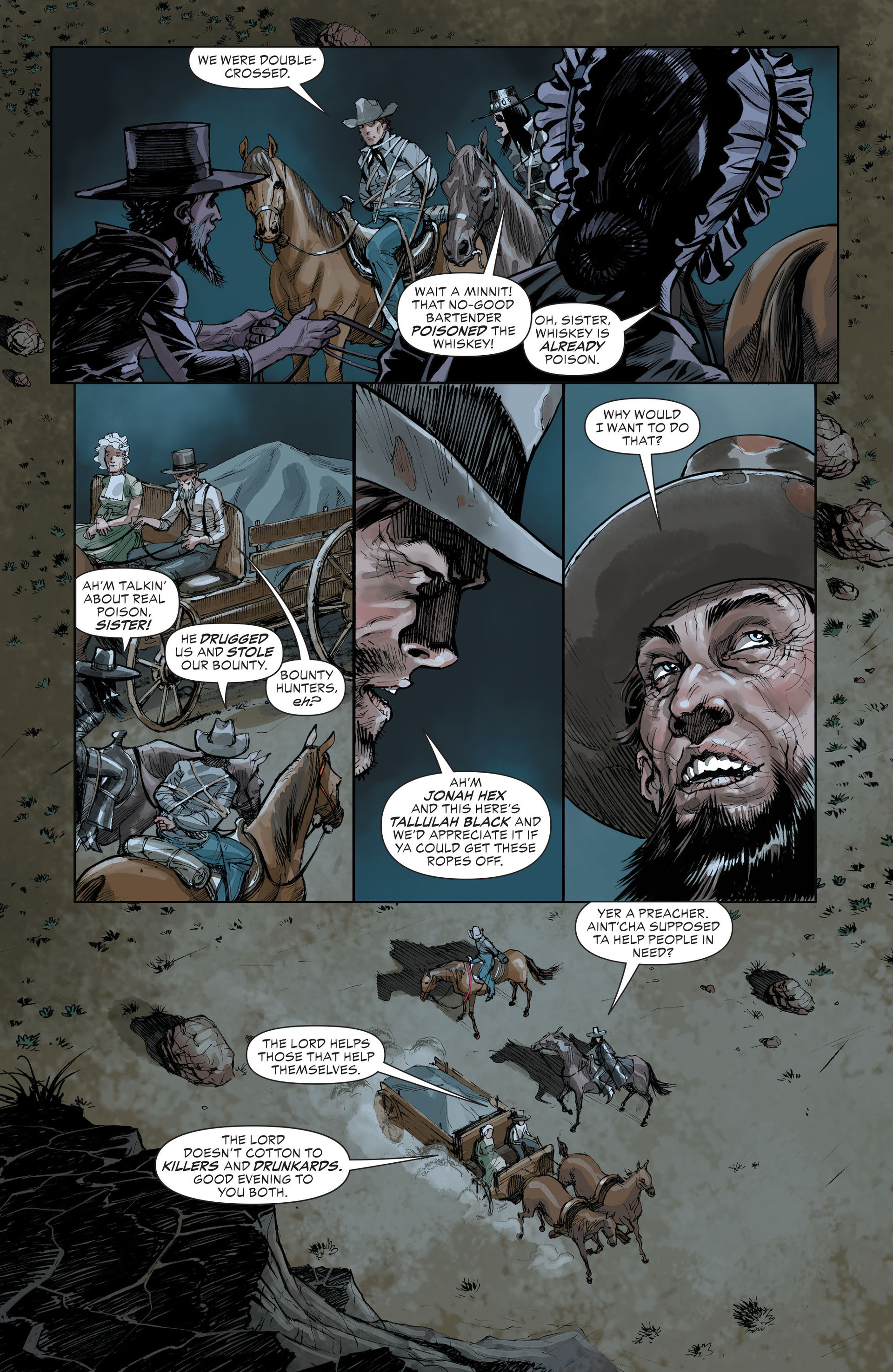 Read online All-Star Western (2011) comic -  Issue #32 - 19