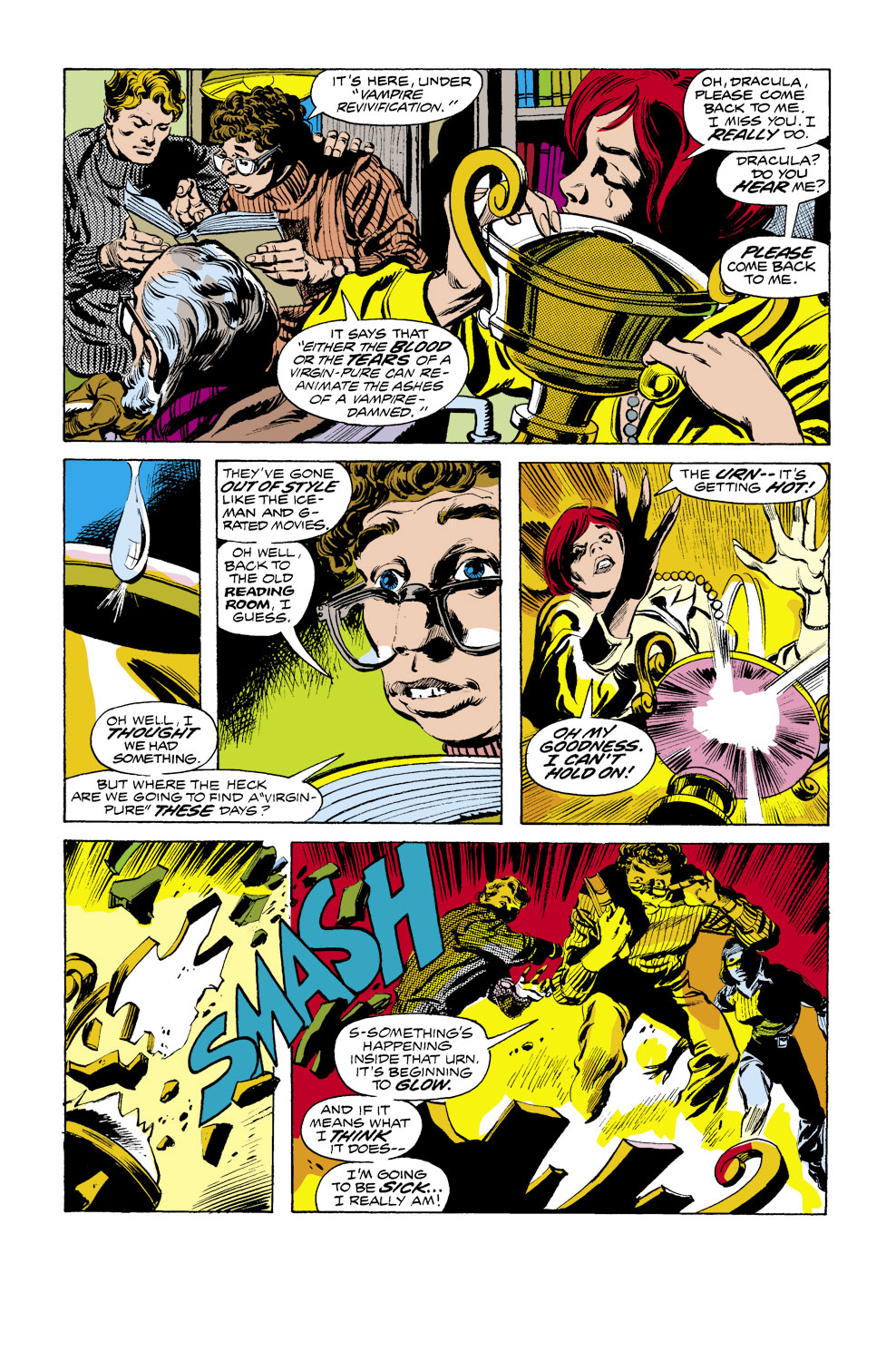Tomb of Dracula (1972) issue 41 - Page 4
