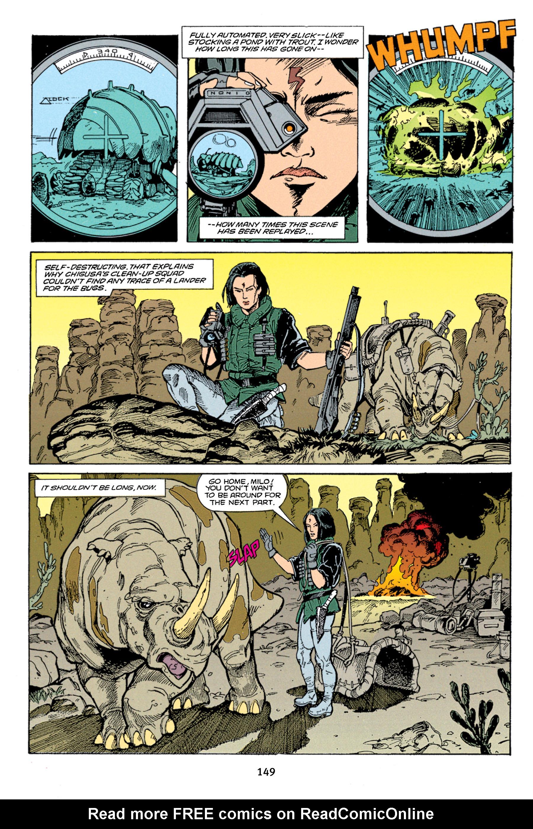 Read online Aliens vs. Predator Omnibus comic -  Issue # _TPB 1 Part 2 - 48