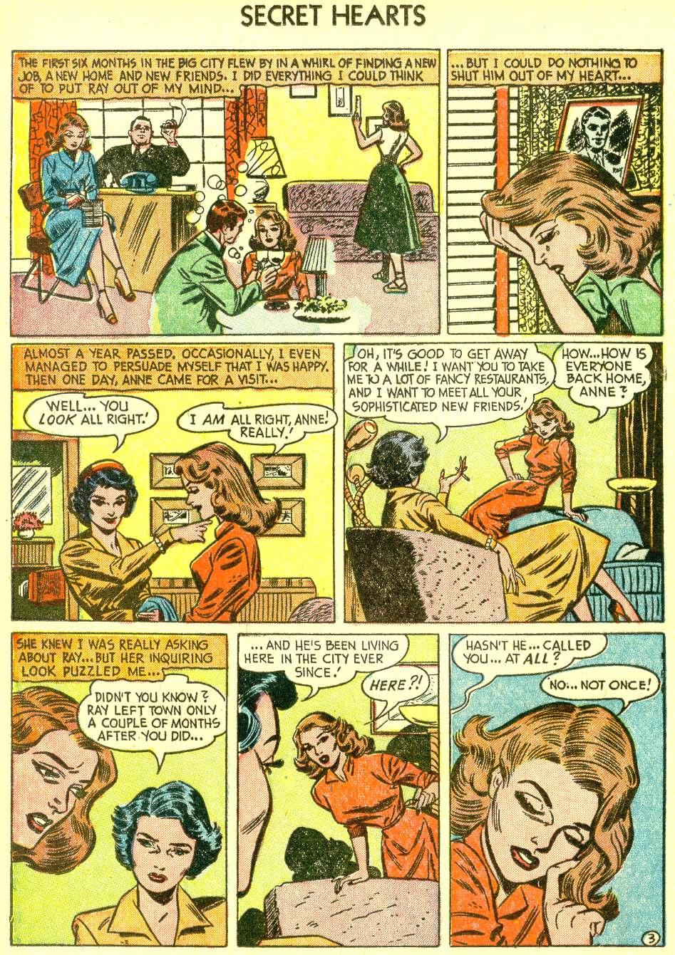 Read online Secret Hearts comic -  Issue #21 - 20