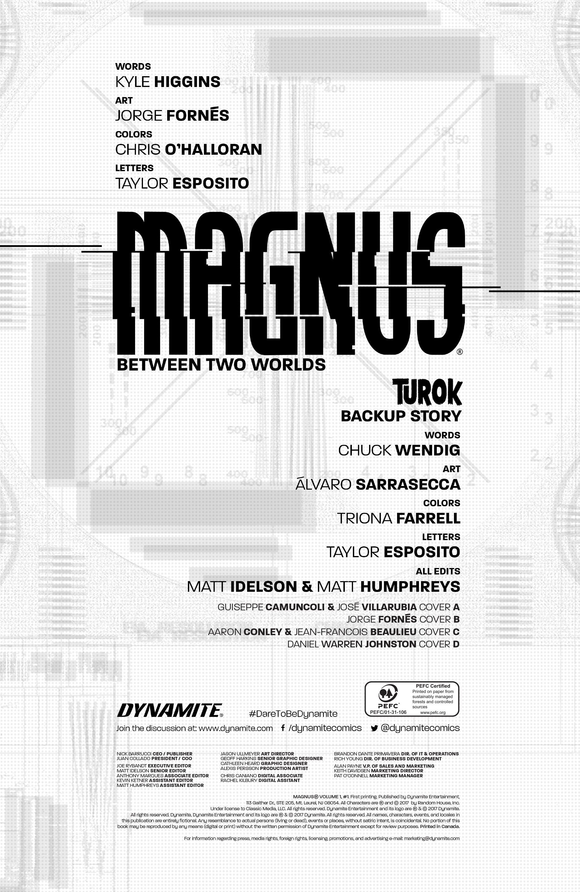 Read online Magnus comic -  Issue #1 - 5