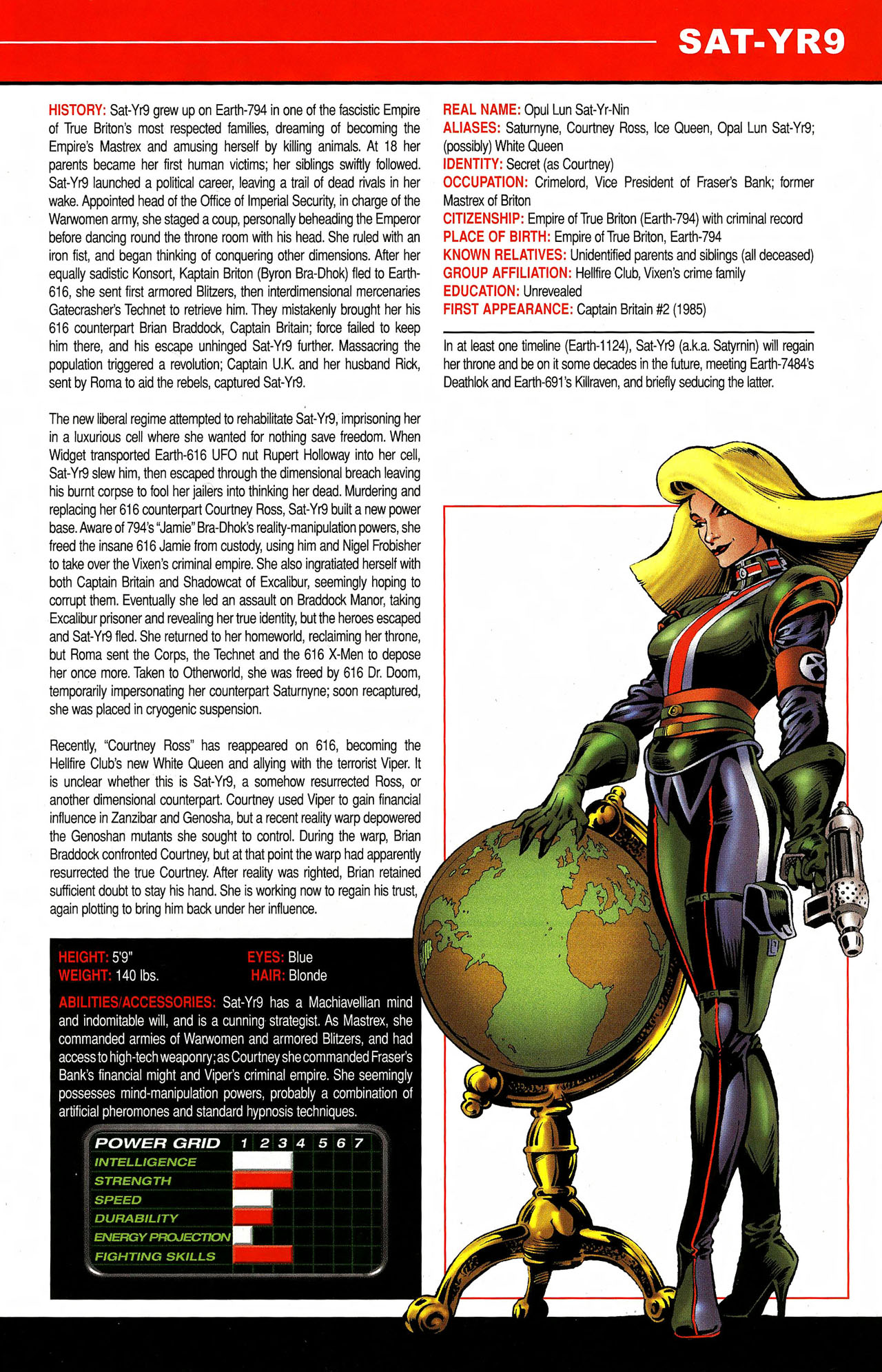 Read online All-New Official Handbook of the Marvel Universe A to Z comic -  Issue #9 - 45