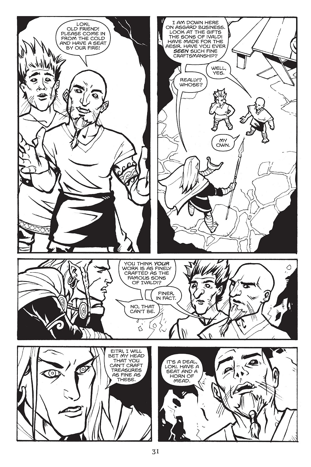 Read online Gods of Asgard comic -  Issue # TPB (Part 1) - 32