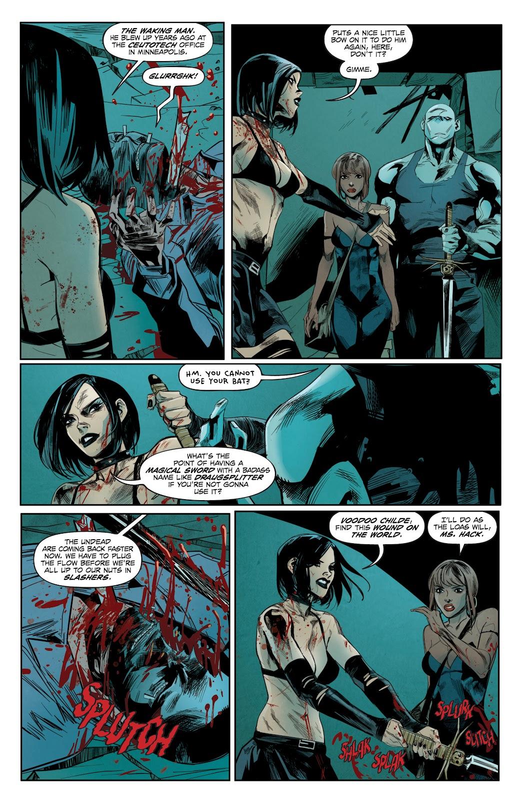 Read online Hack/Slash vs. Chaos comic -  Issue #3 - 7