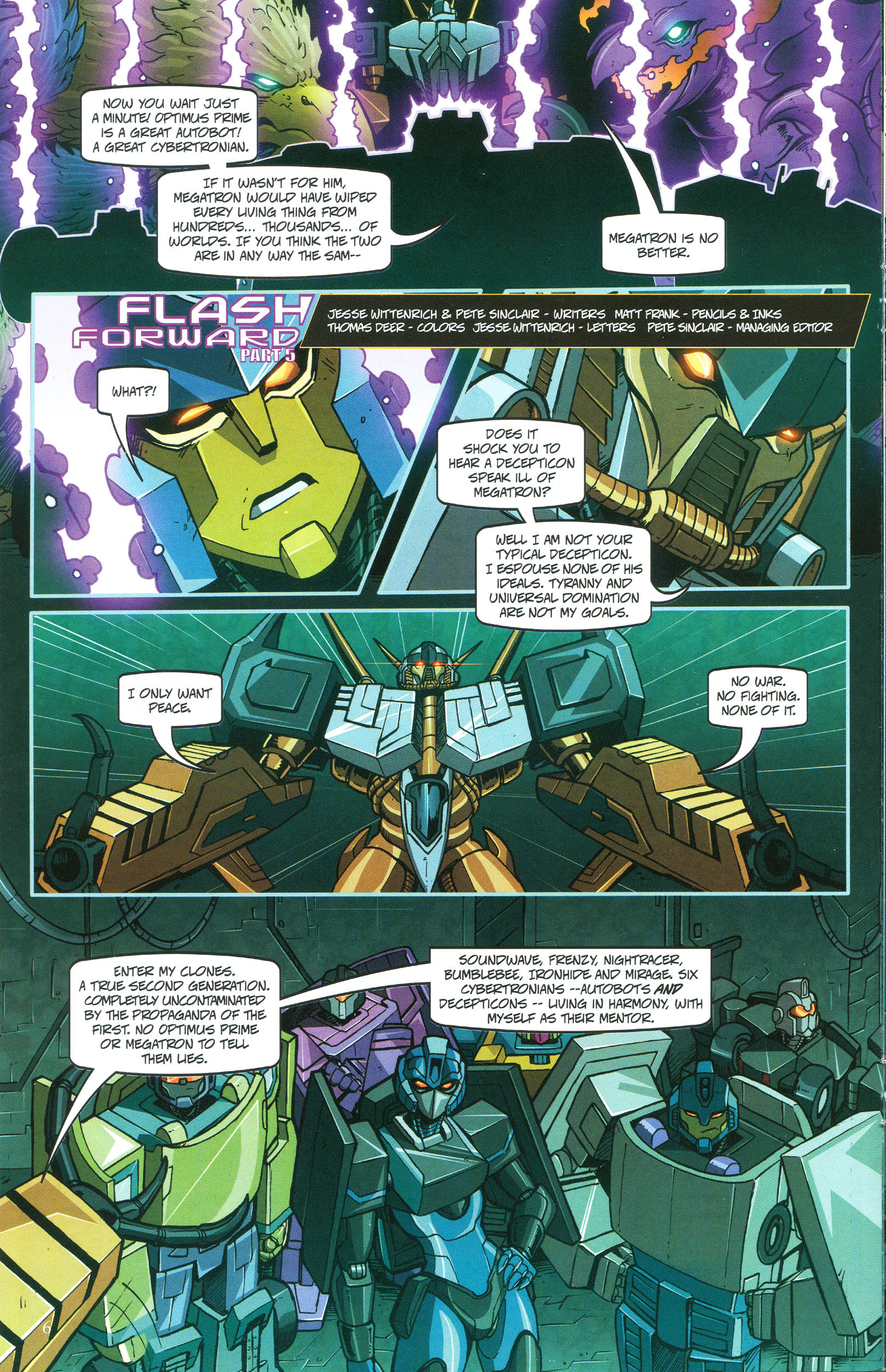 Read online Transformers: Collectors' Club comic -  Issue #47 - 6