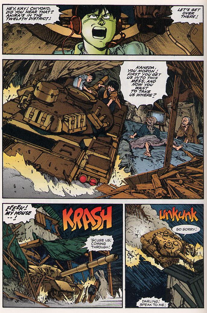 Read online Akira comic -  Issue #15 - 17