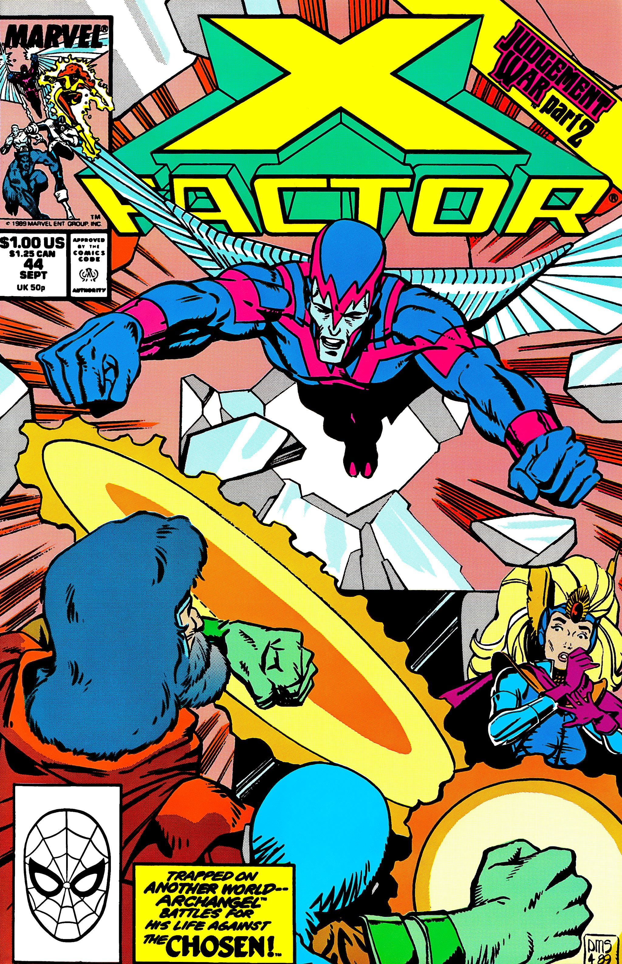 Read online X-Factor (1986) comic -  Issue #44 - 1