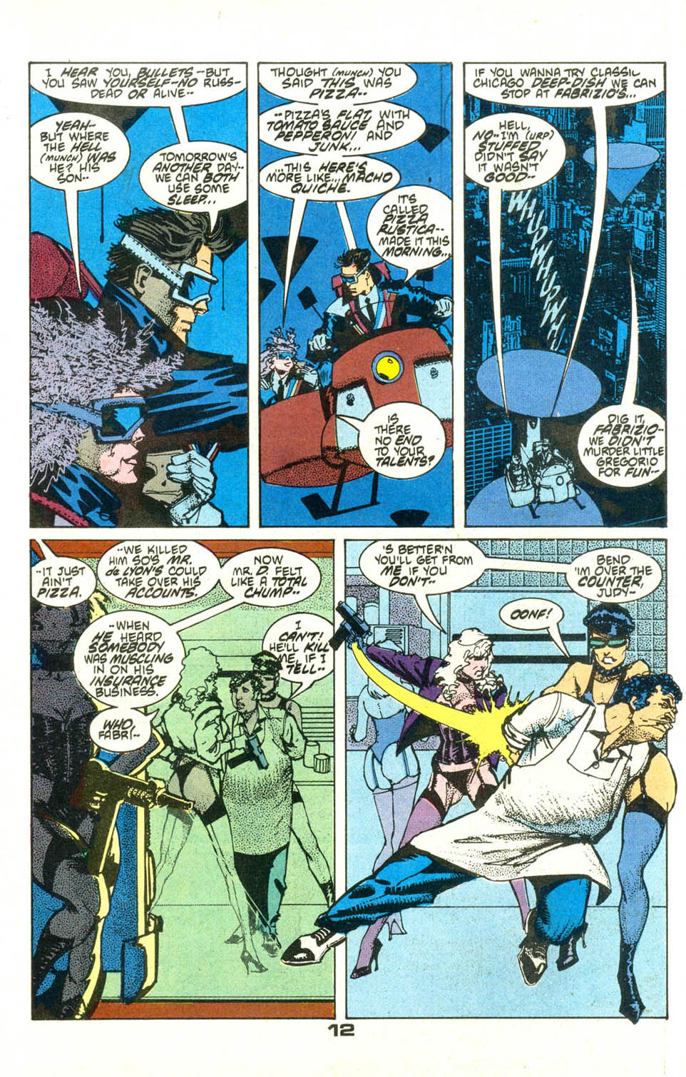 Read online American Flagg! comic -  Issue #21 - 15