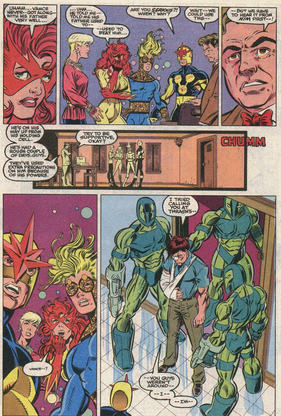 The New Warriors Issue #21 #25 - English 8