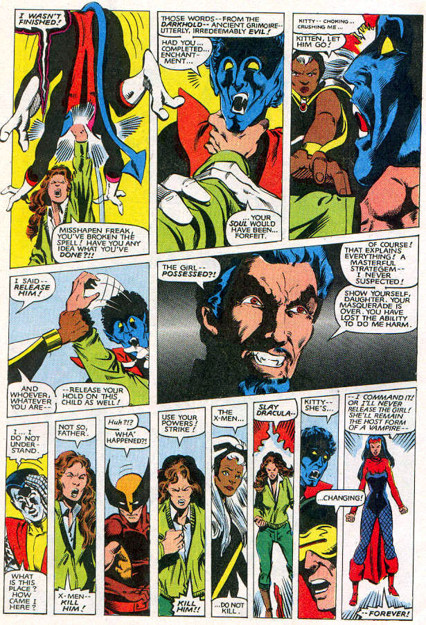 Read online Uncanny X-Men (1963) comic -  Issue # _Annual 6 - 35