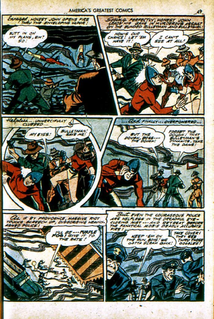 Read online America's Greatest Comics comic -  Issue #4 - 49