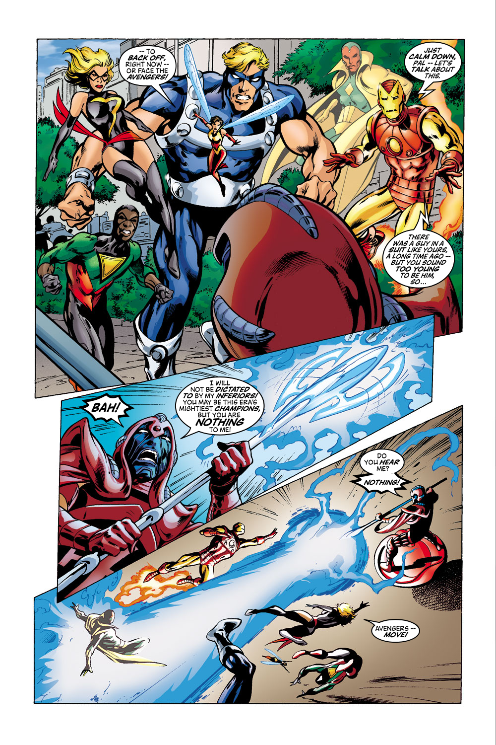 Read online Avengers (1998) comic -  Issue #41 - 13