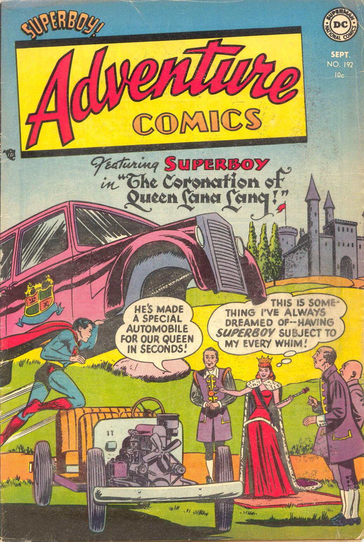 Read online Adventure Comics (1938) comic -  Issue #192 - 1