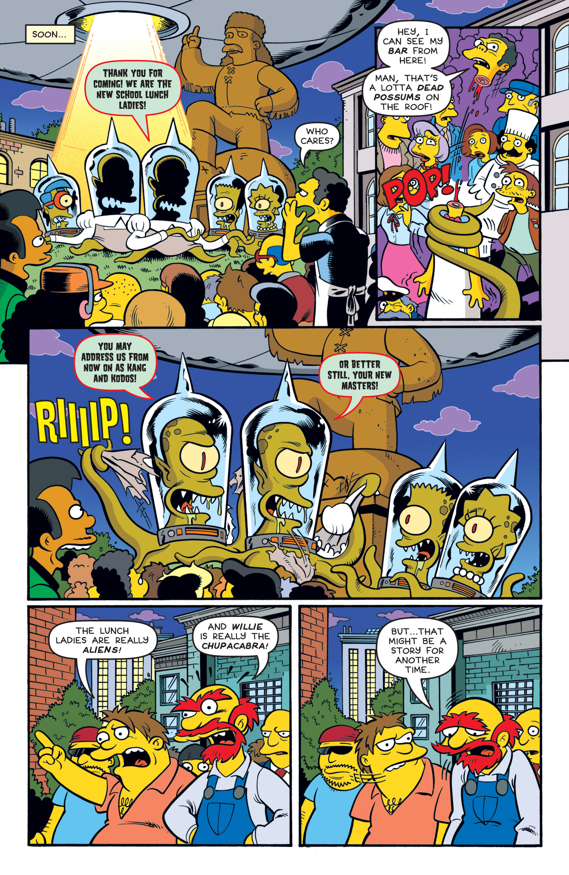 Read online Treehouse of Horror comic -  Issue #19 - 23