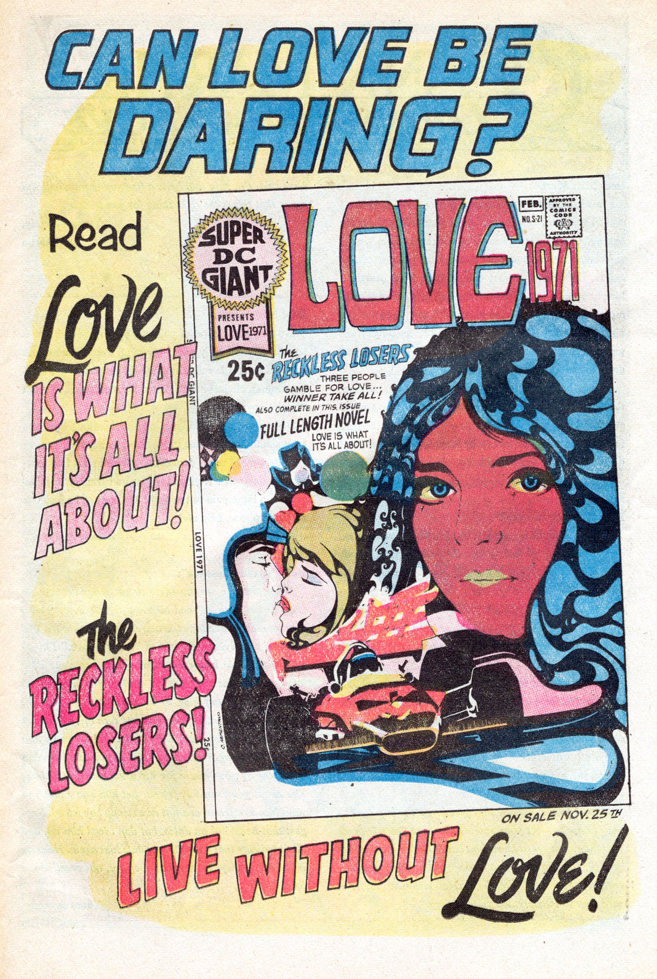 Read online Secret Hearts comic -  Issue #149 - 25