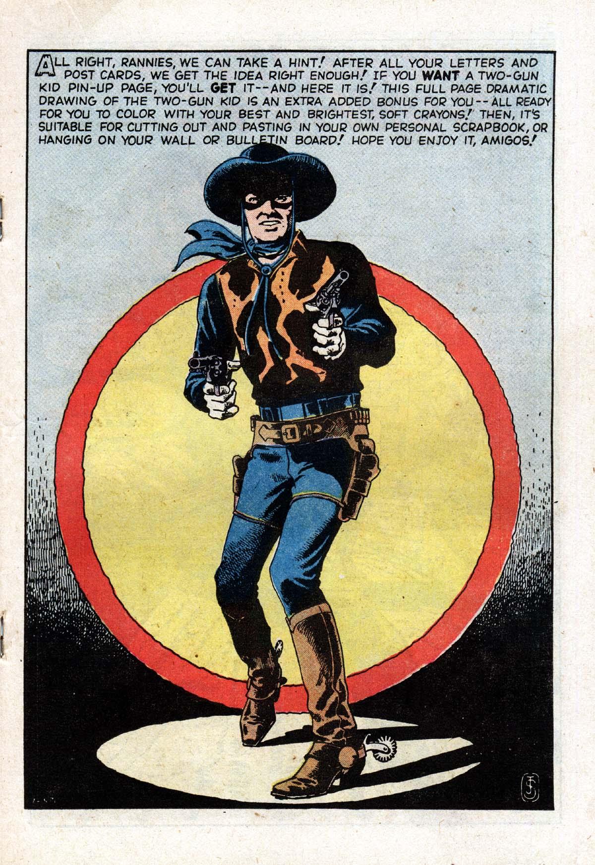 Read online Two-Gun Kid comic -  Issue #104 - 19