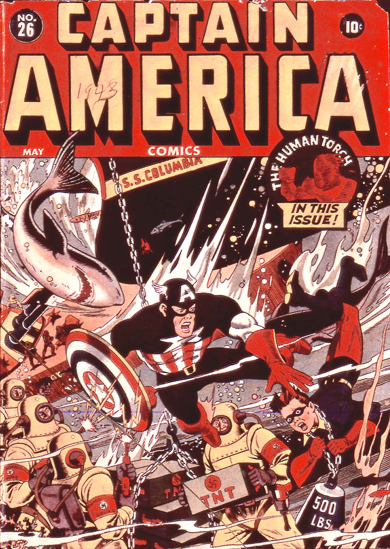 Captain America Comics 26 Page 1
