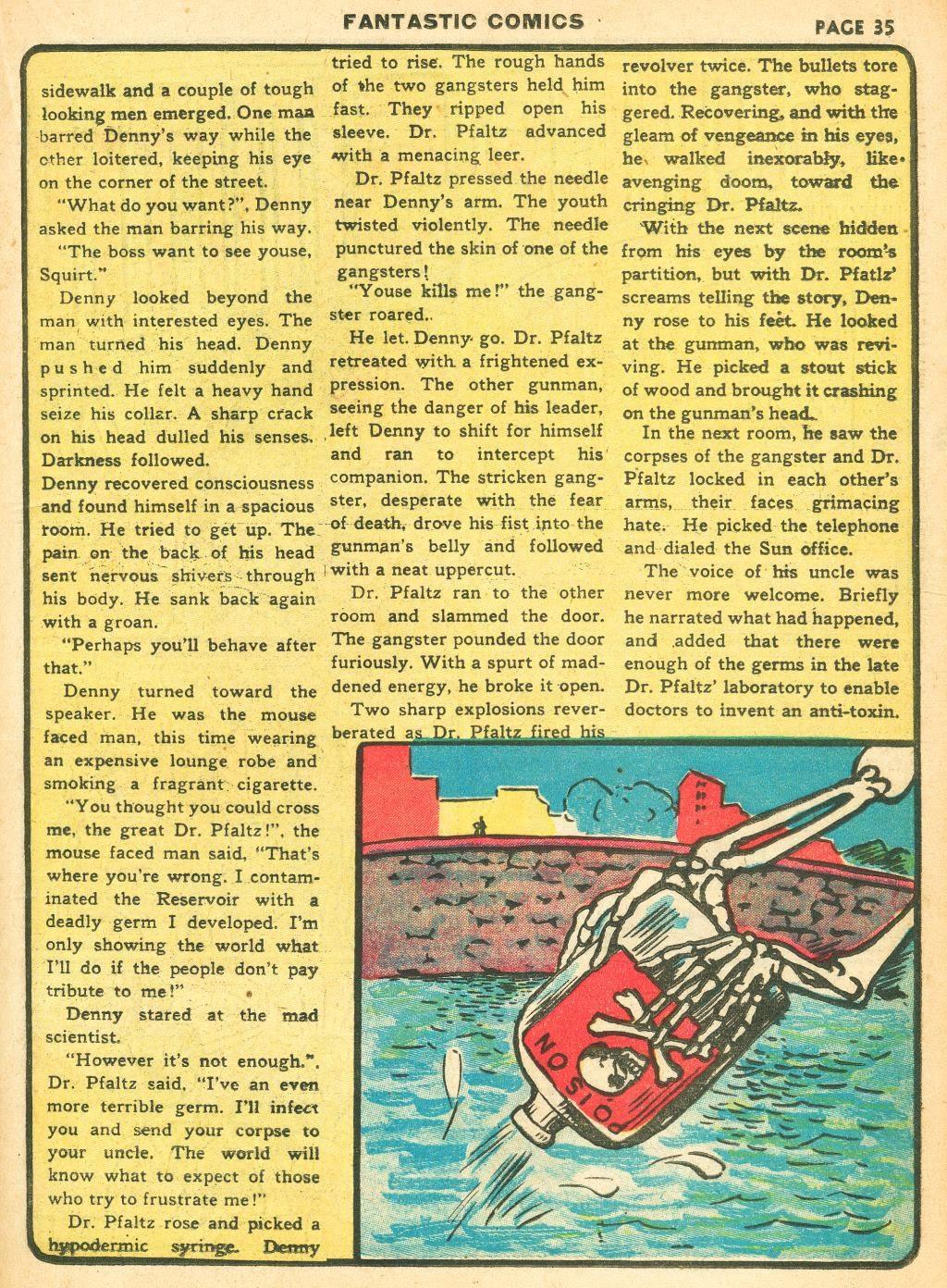 Read online Fantastic Comics comic -  Issue #12 - 37