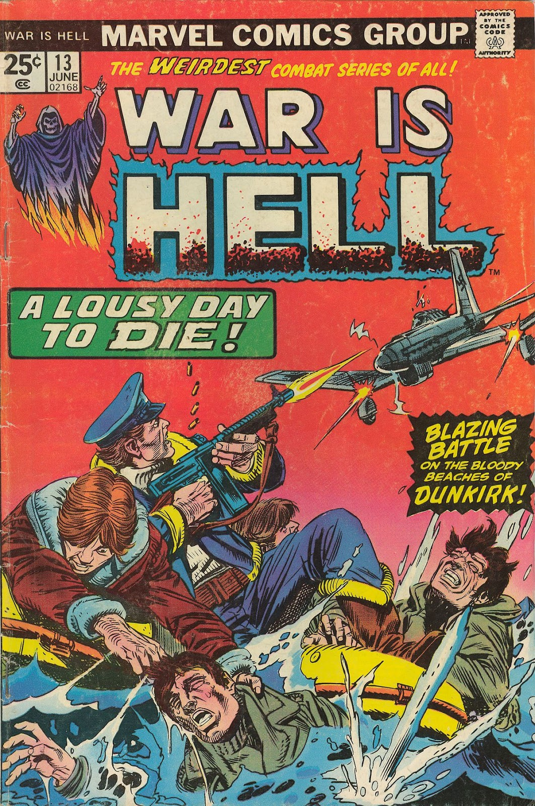 War Is Hell (1973) issue 13 - Page 1
